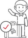 Ikon asuransi travel simasinsurtech