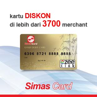 kartu simascard diskon di lebih dari 3700 merchant