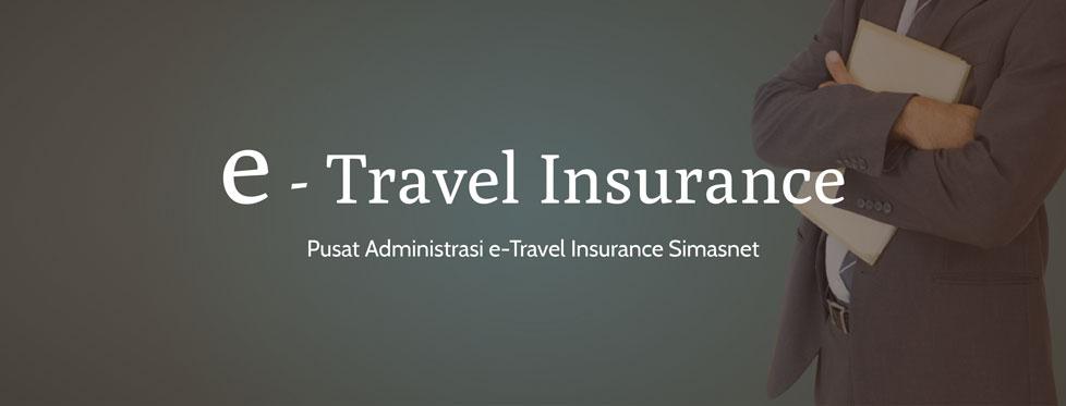 Layanan E-Travel insurance simasinsurtech