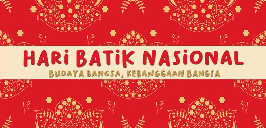 hari batik nasional kebudayaan bangsa indonesia