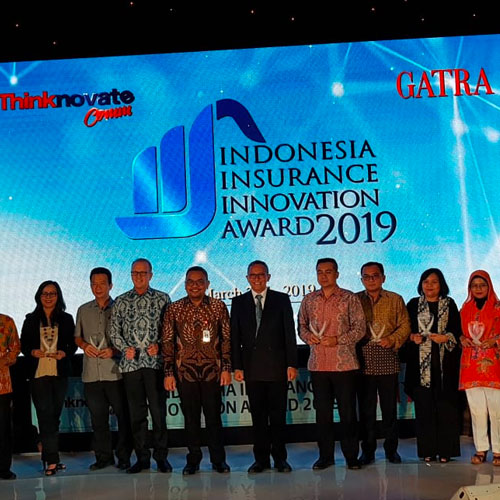 Simas Insurtech meraih penghargaan dari Indonesia Insurance Innovation Award 2019
