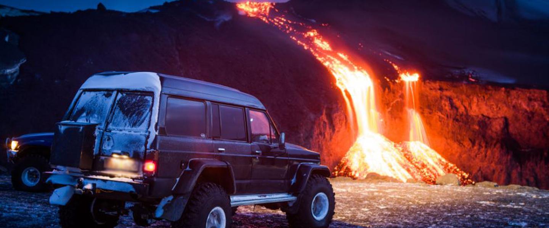 berkendara aman gunung merapi erupsi