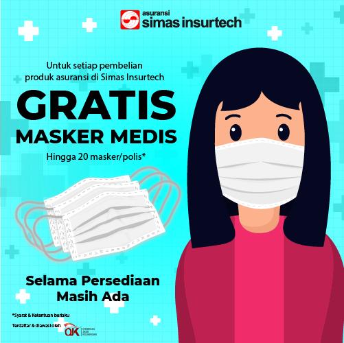promo gratis masker
